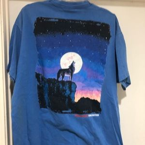 Vintage 90s Marlboro wolf t shirt xl